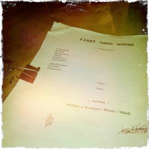 first hand woman script