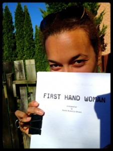 Sarah Michelle Brown – writing First Hand Woman