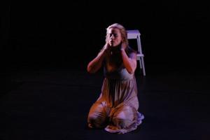 "NYC debut. Cast: Allana Harkin - ""Acceptance"".  Photographer: Nicholas Santasier"